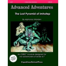 AA#9 The Lost Pyramid of Imhotep